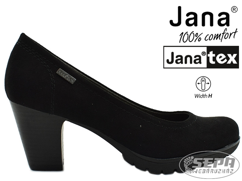 Jana. Jana 22400 női vízálló magassarkú ... 1687c07dc5